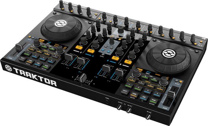 Native InstrumentsTRAKTOR KONTROL S4 DJ Performance SystemLeft-facing