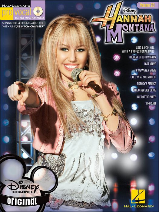 Hal Leonard Hannah Montana Pro Vocal Series Volume 20 Book/Cd