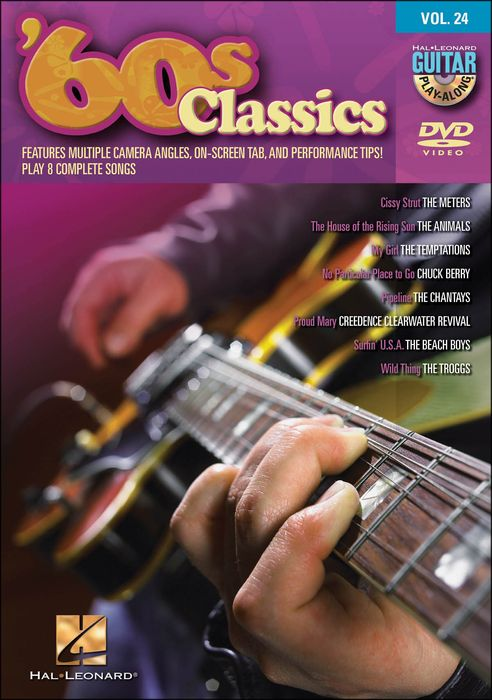 Hal Leonard 60S Classics - Guitar Play-Along Dvd Volume 24 (Dvd)