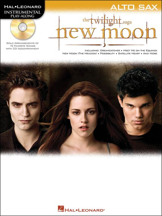Hal Leonard Twilight: New Moon for Alto Sax - Instrumental Play-Along CD/Pkg