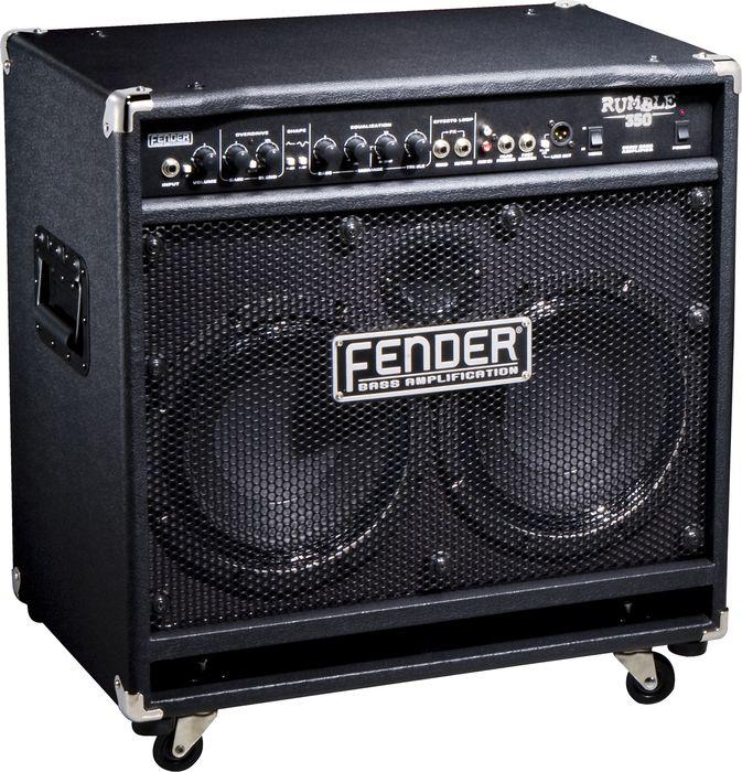 Fender Rumble 350 350W 2X10 Bass Combo Amp Black