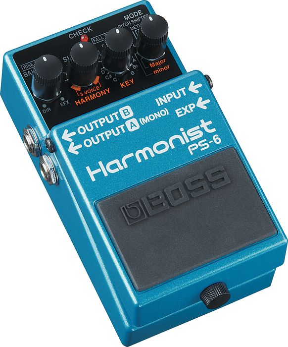 Boss Ps-6 Harmonist Pitch Shifter Guitar Effects Pedal