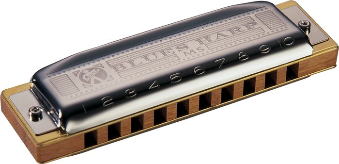 Hohner 532 Blues Harp Ms-Series Harmonica B