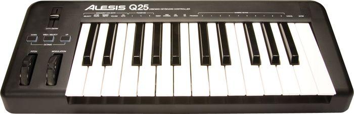 Alesis Q25 25-Key Keyboard Midi Controller