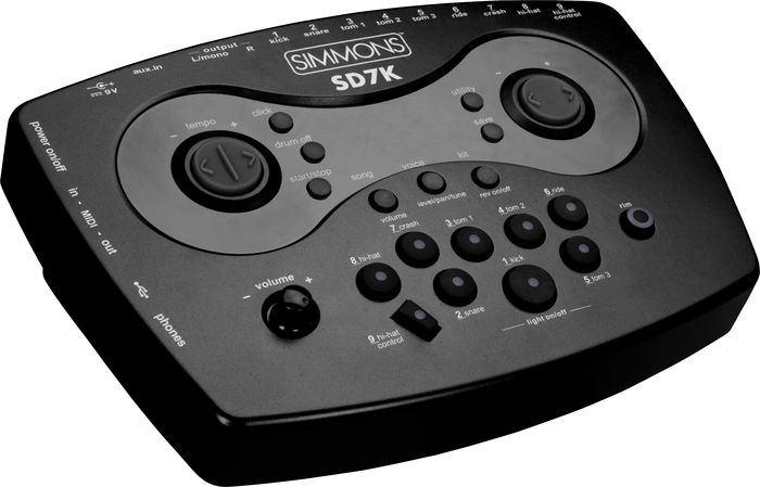 Simmons Sound Module For Sd7 Electronic Drum Set