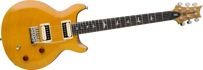 PRS SE Santana Yellow Electric Guitar