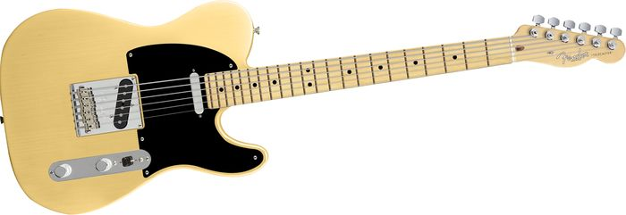Fender 60th Anniversary Telecaster Electric Guitar Blackguard Blonde