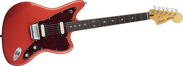 Squier Vintage Modified Jaguar Hh Electric Guitar Fiesta Red