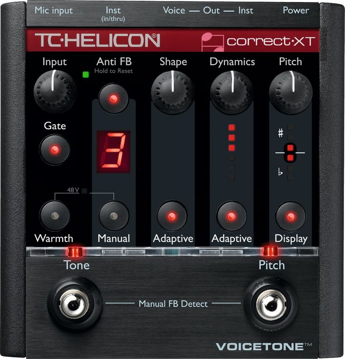 Hands-On Review: TC Helicon VoiceTone Pedals