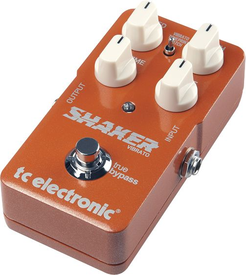 TC Electronic Shaker Vibrato TonePrint Series Guitar Effects Pedal