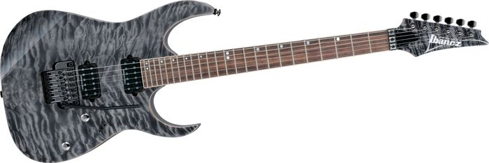 Ibanez RG920QMZ Premium Electric Guitar Black Ice