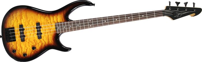Peavey Millennium Bxp 4-String Bass Guitar Quilt Top Sunburst