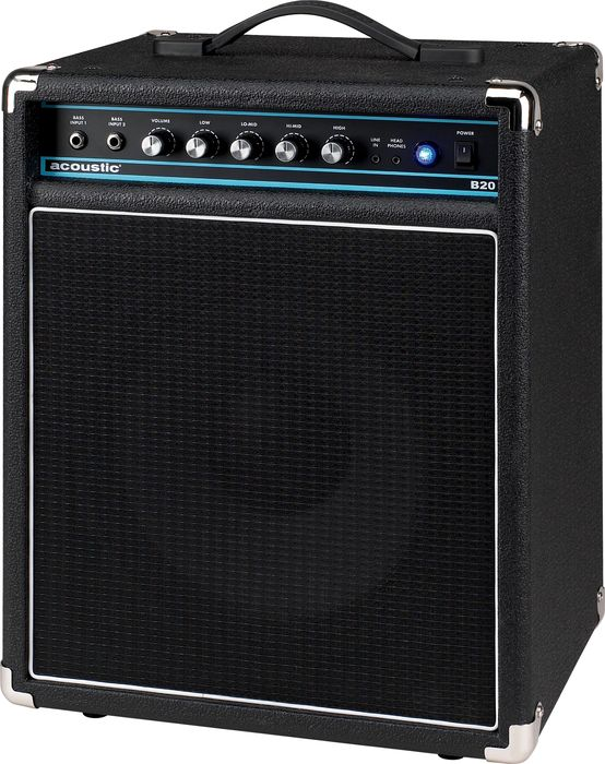 You can find a used Acoustic B20 1x12 for under  90  I love mine  The 4  band EQ is nice and it gets plenty loud for home and low level needs. Bedroom Bass Amps    MarkWeinGuitarLessons com