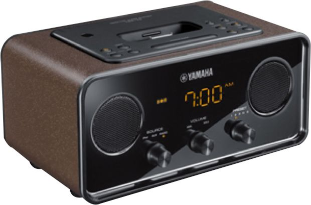 Yamaha TSX-70 Desktop Audio System Brown