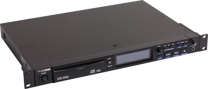 TASCAM CD-01U 1-Rackspace CD Player