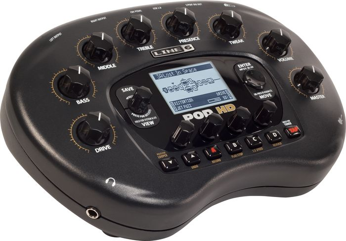 Line 6 POD HD Desktop Guitar Multi-Effects Processor