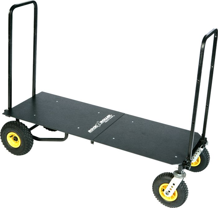 Rock-N-Roller R12 Multi-Cart with Deck