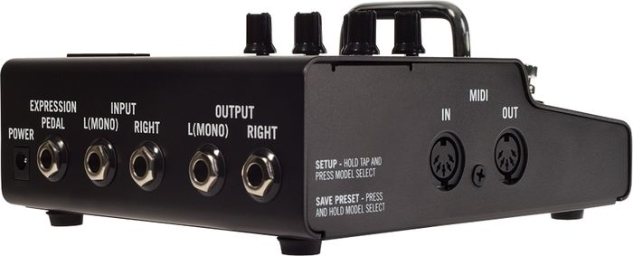 Line 6 M5 Stompbox Modeler Inputs & Outputs