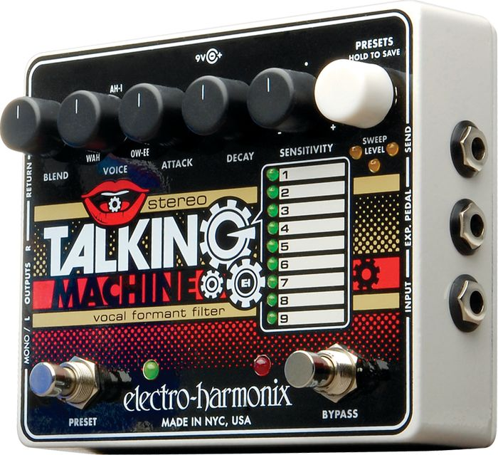 Hands-On Review: EHX Stereo Talking Machine & EHX Strings