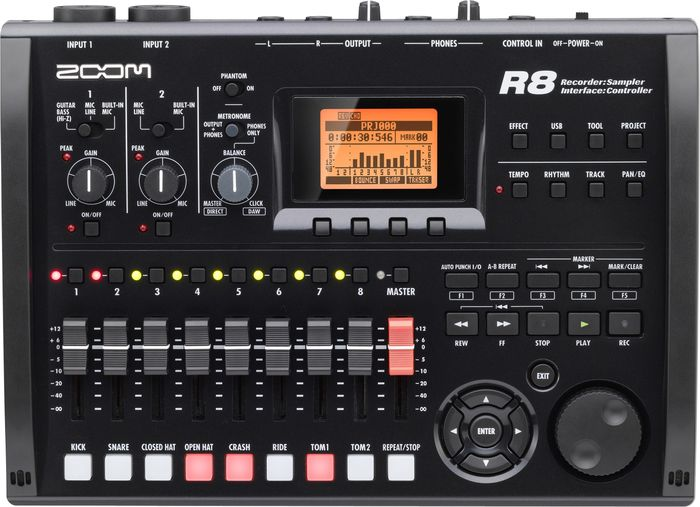 Zoom R8 8-Track SD Recorder