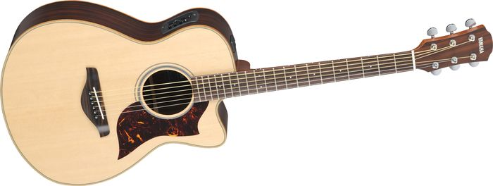 Yamaha A-Series Concert Acoustic-Electric Guitar With Srt Pickup Rosewood Back & Sides