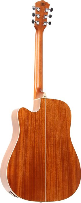 Washburn WD10SCE Acoustic-Electric Guitar Back