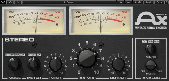 Waves Aphex Vintage Aural Exciter Native Software Download