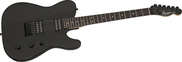 Squier Bullet Telecaster HH Blackout FSR Electric Guitar