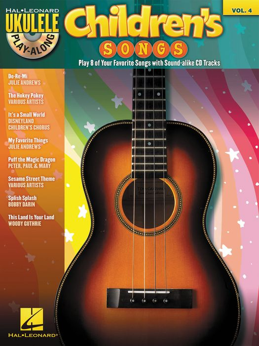 Hal Leonard Children's Songs - Ukulele Play-Along Vol. 4 (Book/CD)