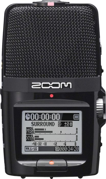 Zoom H2n Handy Portable Audio Recorder