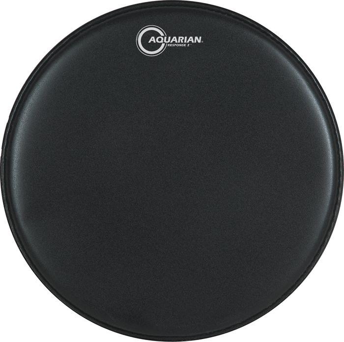 Aquarian Response 2 Drumhead (Black) 13 Inch