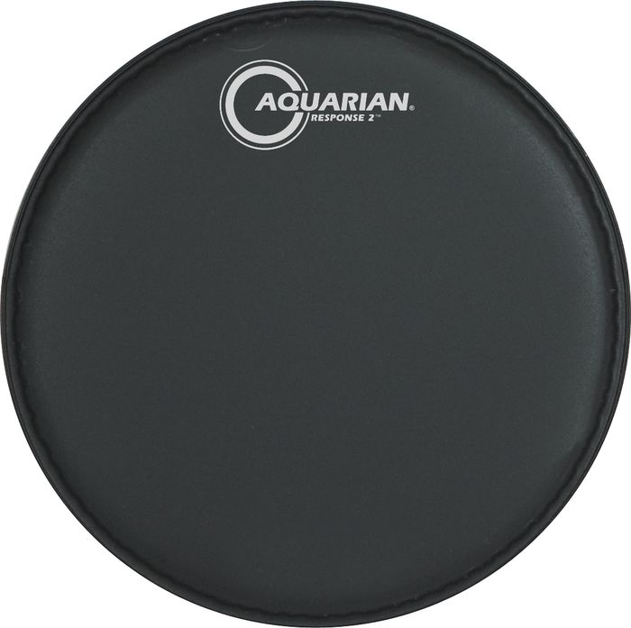 Aquarian Response 2 Drumhead (Black) 8 Inch