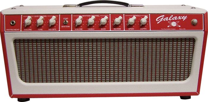 Tone King Galaxy 60W Tube Guitar Amp Head Red