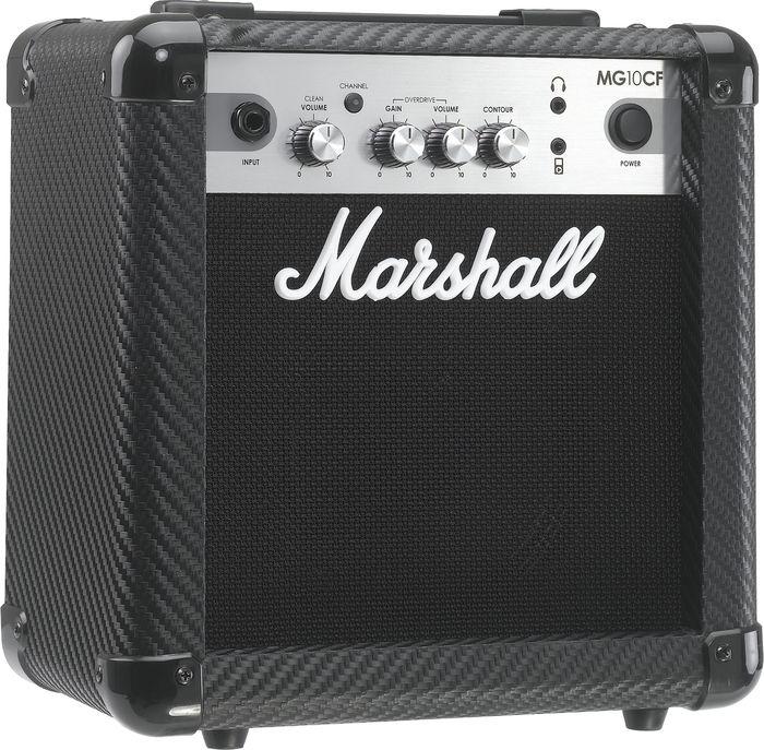 Marshall Mg Series Mg10cf 10W 1X6.5 Guitar Combo Amp Carbon Fiber