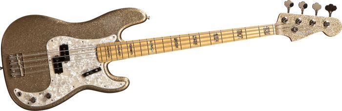 Fender Custom Shop Limited-Edition Adam Clayton P-Bass Gold Sparkle