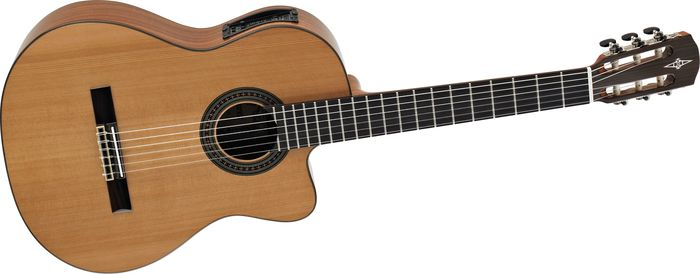 Alvarez Artist Series Ac65ce Classical Acoustic-Electric Guitar Natural