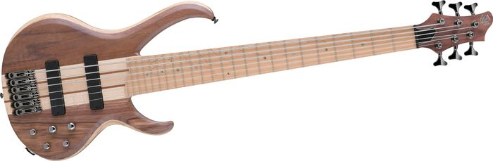Ibanez Btb676m 6-String Electric Bass Natural Flat
