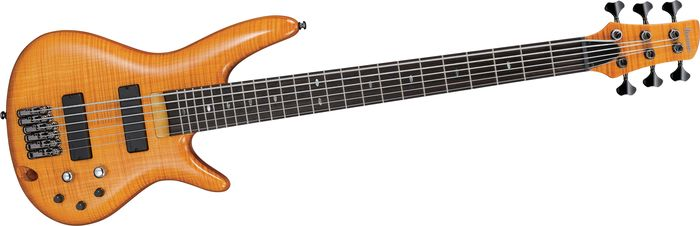 Ibanez Gvb36 6-String Electric Bass Amber