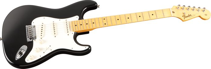 Fender Custom Shop 2011 Closet Classic Pine Stratocaster Pro Electric Guitar Black Maple