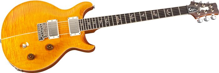 PRS Santana Signature Model 10 Top Electric Guitar Santana Yellow