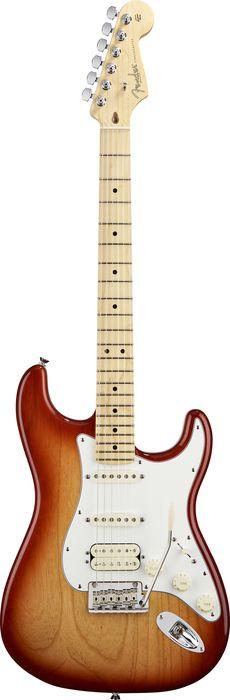 Электрогитара Fender Standard Stratocaster RW Midnight Wine.