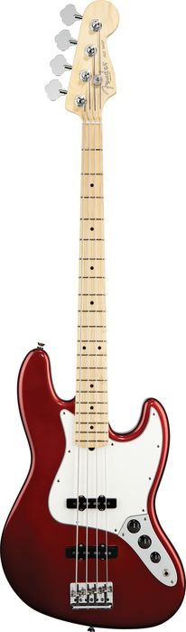 Fender American Standard Jazz Bass with Maple Fingerboard Candy Cola Maple Fingerboard