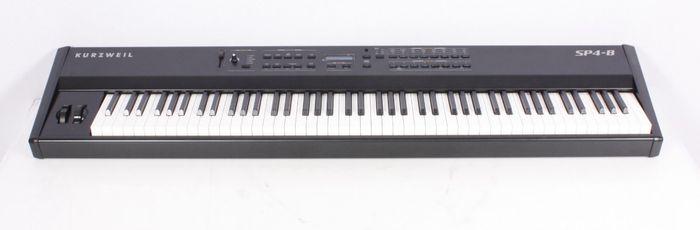 Used Kurzweil Sp4-8 88 Key Stage Piano 886830281334