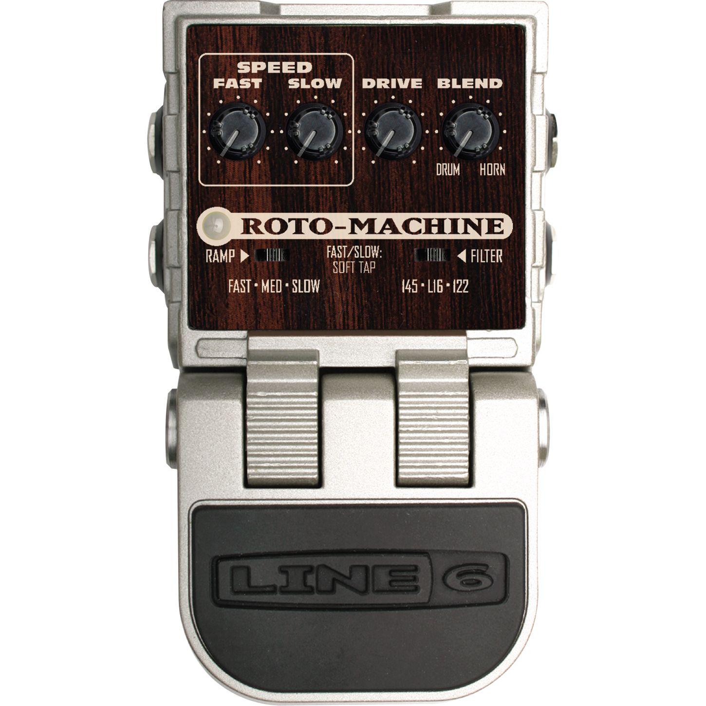 line 6 roto machine