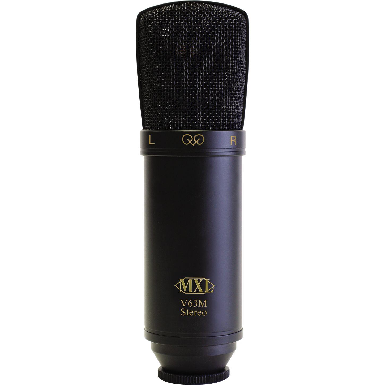 mxl v63m stereo large diaphragm condenser microphone musician 39 s friend. Black Bedroom Furniture Sets. Home Design Ideas