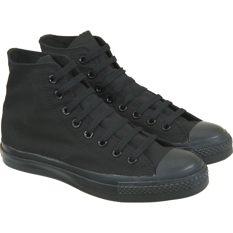 black converse hi top