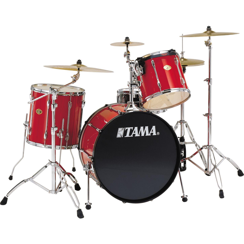 tama rockstar 4 piece rock drum set musician 39 s friend. Black Bedroom Furniture Sets. Home Design Ideas