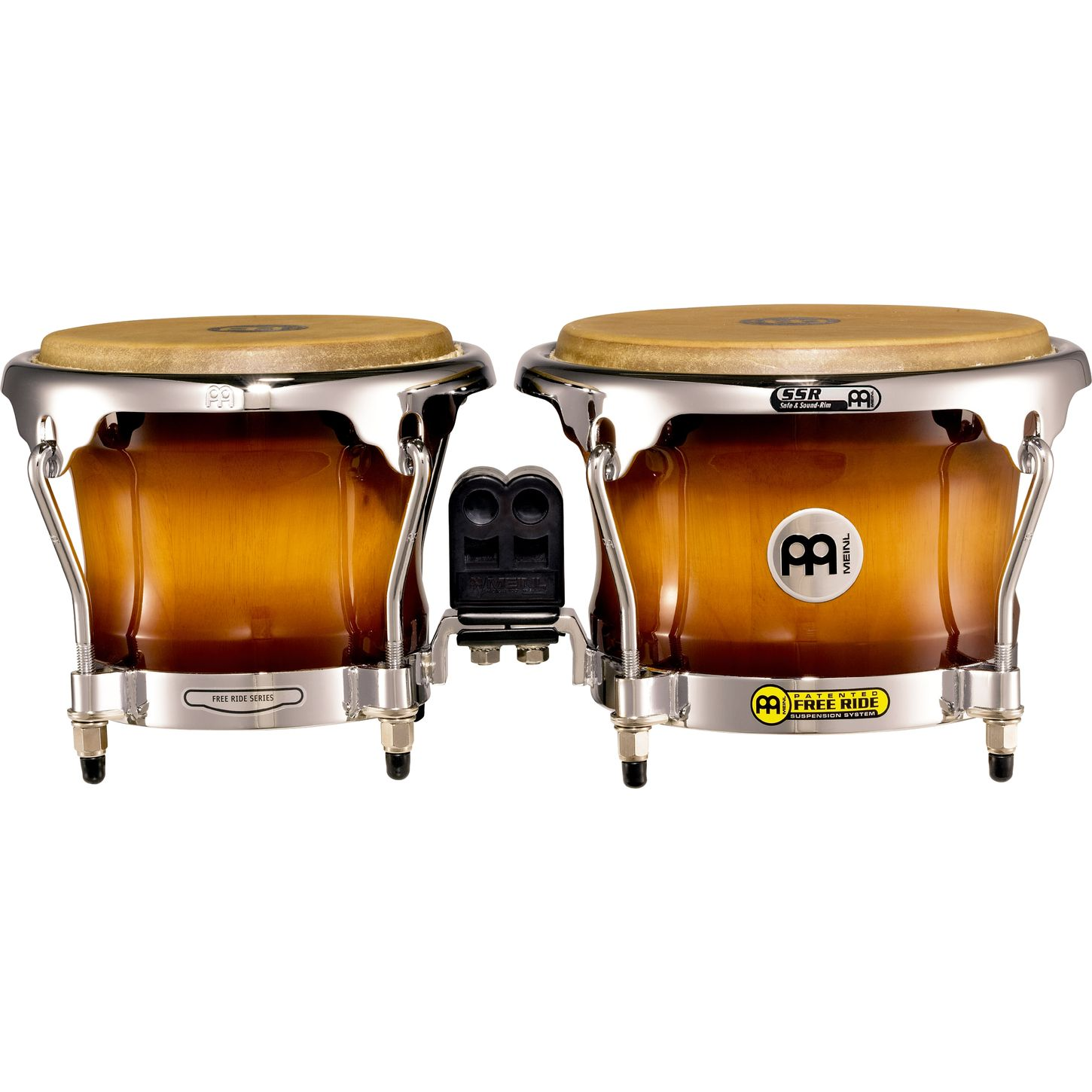 Бонго MEINL FREE RIDE SERIES WOOD BONGOS FWB400GAB