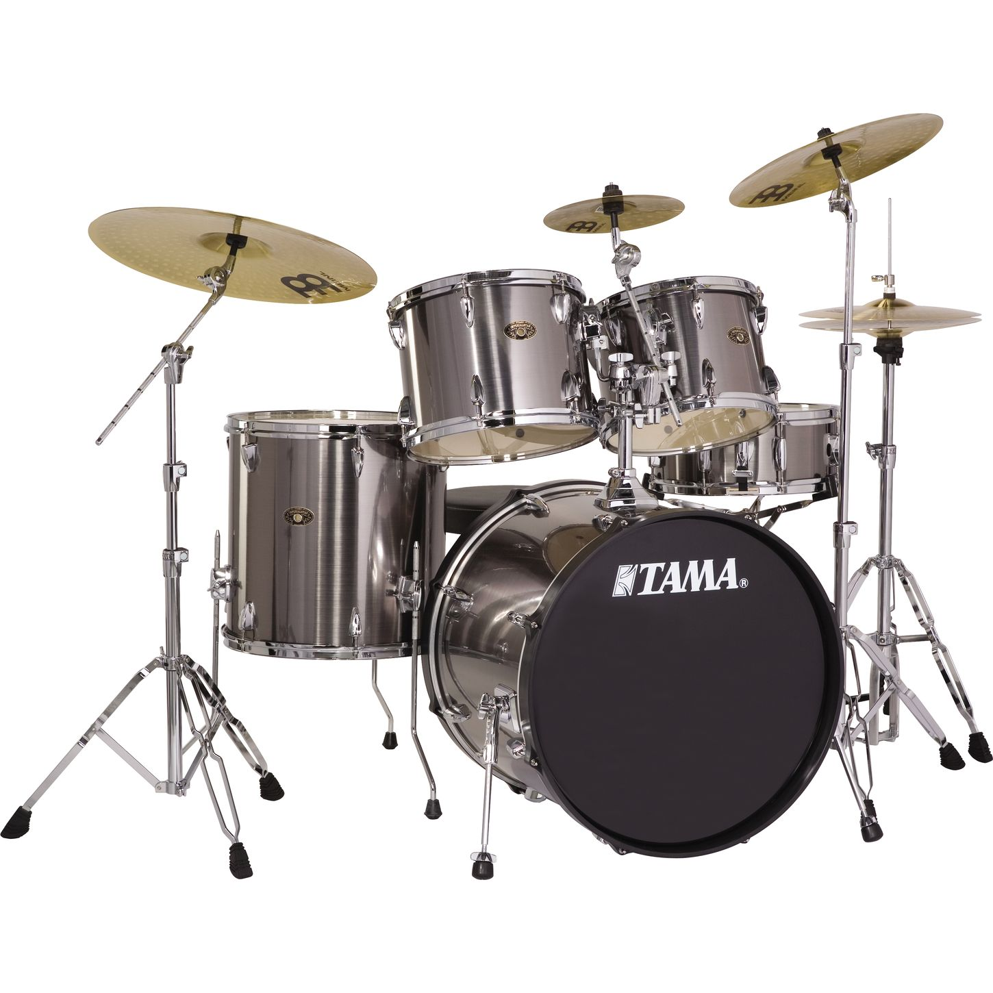 tama imperialstar 5 piece standard drum set with 20 bass drum and cymbals musician 39 s friend. Black Bedroom Furniture Sets. Home Design Ideas