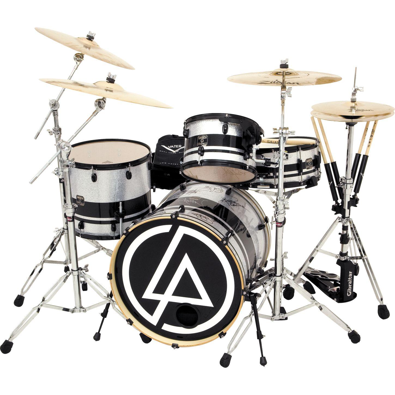 Gretsch Drums Linkin Park Signed 4 Piece Club Mod Drum Set